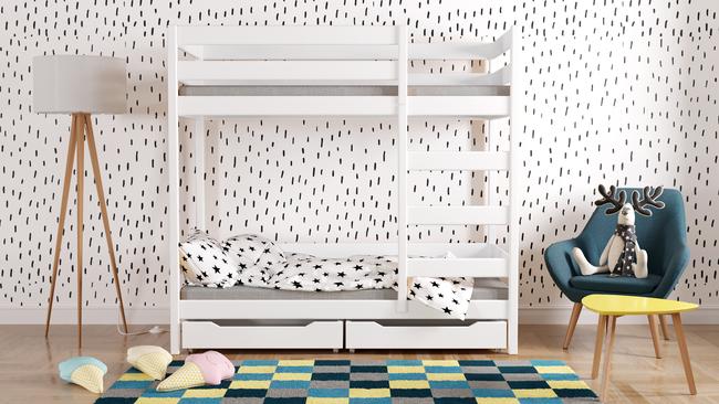 Etagenbett Verkleidung : Kinder hochbett etagenbett für u kt bau montage
