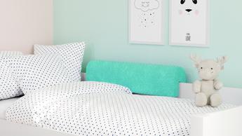 Profilierter Cloudlet-Schaumstoffbettschutz für das Kinderbett