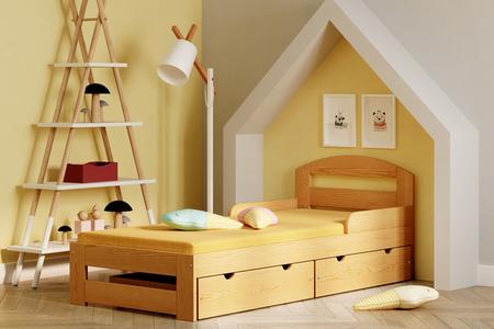 Kinderbett Massivholz