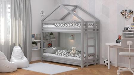 Massivholzbetten, skandinavische Betten, Kinderbett, Etagenbett, Öko-Betten, Betten im skandinavischen Stil, Einzelbett, Kinderbett, Bett für Kinder, Etagenbett für Kinder, Hausbett, Etagenbett in Hausform, Bett für Geschwister