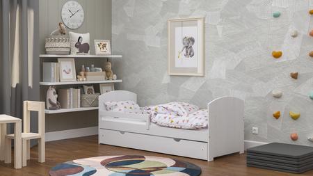 Kindermöbel, Kinderbetten, Kindermöbel, Kinderbett, Kinderbett mit Barriere