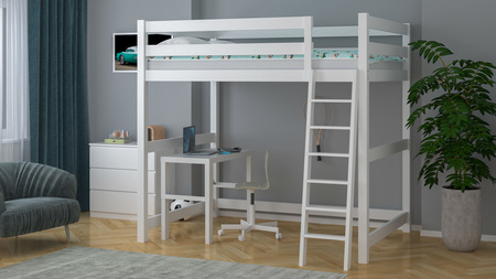 Mezzanine-Bett verstärkt