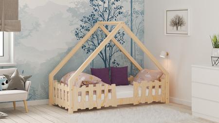 Betten aus Sperrholz, skandinavische Betten, Bett für Kinder, Einzelbett, ökologisches Bett, eco Betten, Sperrholzmöbel, Betten im skandinavischen Stil, Hausbett, Bett in Hausform
