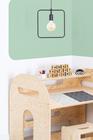 Sperrholzmöbel, Öko-Möbel, Kindermöbel, Kinderschreibtisch, Schreibtisch für Kinder