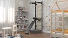 Sprossenwand, Gymnastikübungen, Fitnessstudio zu Hause, Übungsstange